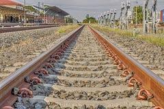 Järnväg sten Royaltyfri Foto