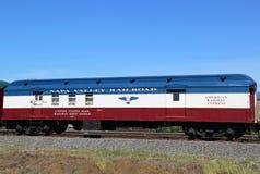 Järnväg stolpe för USA-post - kontor i Napa Royaltyfria Foton