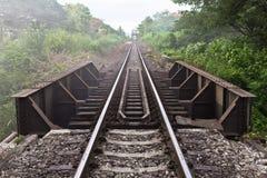 järnväg thailand Royaltyfri Bild