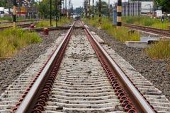 järnväg thailand Fotografering för Bildbyråer