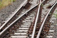 Järnväg Thailand Arkivfoto