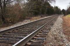 Järnväg till evighet royaltyfri foto