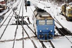 järnväg trans. Arkivfoton