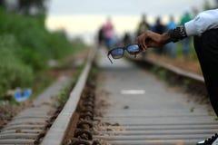 Järnväg trans. Arkivbild