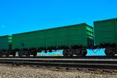 Järnväg vagn Royaltyfri Fotografi