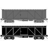 Järnväg vagn Arkivfoton
