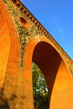 Järnväg viaduct Royaltyfria Foton