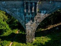 Järnväg viadukter som en unik konstruktion Royaltyfri Foto
