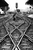 järnvägar Royaltyfria Bilder