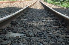 Järnvägar Fotografering för Bildbyråer