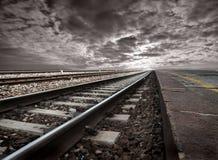 järnvägar Arkivbilder