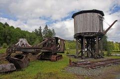 järnvägbehållare Royaltyfria Foton