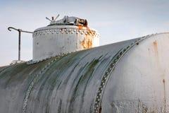 Järnvägbehållare för olja Royaltyfri Fotografi