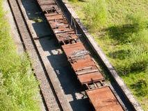 Järnvägbil Royaltyfri Foto