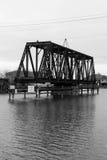 Järnvägbro Fotografering för Bildbyråer