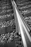 Järnvägdelar och assemblay system Arkivfoton