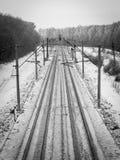Järnvägen Royaltyfri Fotografi