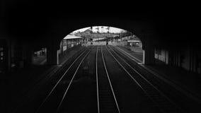 Järnvägen posterar Arkivfoton
