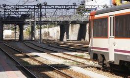 Järnvägen posterar Arkivbilder