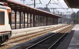 Järnvägen posterar Royaltyfria Bilder