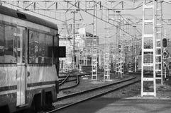 Järnvägen posterar Royaltyfri Foto