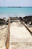 järnväghav till Arkivfoton
