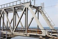 Järnvägsbro royaltyfria bilder