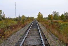 järnvägspår Royaltyfria Bilder