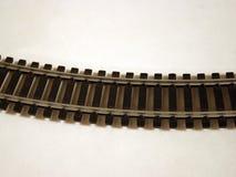 järnvägspår Arkivfoton