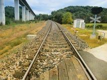 Järnvägsspår Royaltyfri Fotografi
