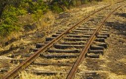 Järnvägsspår Royaltyfria Foton