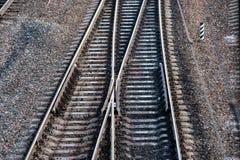 Järnvägsspår Arkivbilder