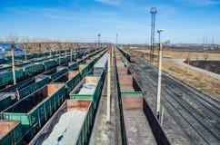 Järnvägsspår Arkivbild