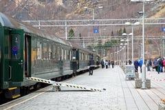 Järnvägsstation Royaltyfri Fotografi