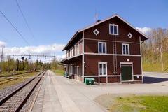 Järnvägsstation Ann royaltyfria bilder