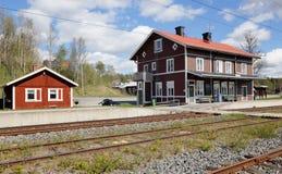 Järnvägsstation Ann arkivfoton