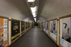 Järnvägsstation av franska paris Fotografering för Bildbyråer