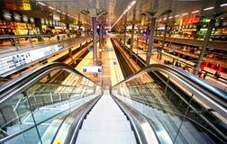 Järnvägsstation Berlin Arkivfoto