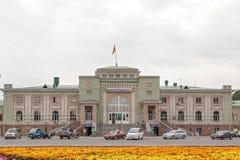 Järnvägsstation Bishkek-2 Fotografering för Bildbyråer