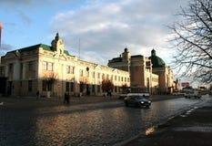 Järnvägsstation Ivano-Frankivsk Royaltyfri Bild
