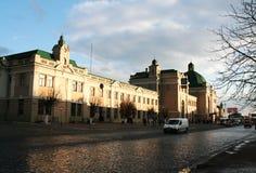 Järnvägsstation Ivano-Frankivsk Royaltyfri Fotografi