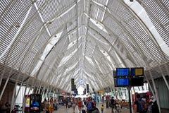 Järnvägsstation Montpellier, Frankrike Royaltyfria Bilder