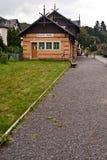 Järnvägsstation på Kurort Oybin Arkivbilder