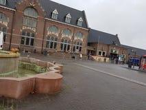 Järnvägsstation Roosendaal Royaltyfri Foto