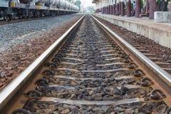 Järnvägstation Arkivbild