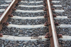 Järnvägstation Royaltyfri Fotografi