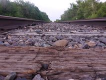 Järnvägväg Arkivfoton