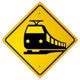 järnvägvägmärketrafik stock illustrationer