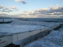 jäsa havet arkivbilder