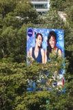 Jätte- affischtavlor i Nairobi, Kenya, ledare Royaltyfri Fotografi